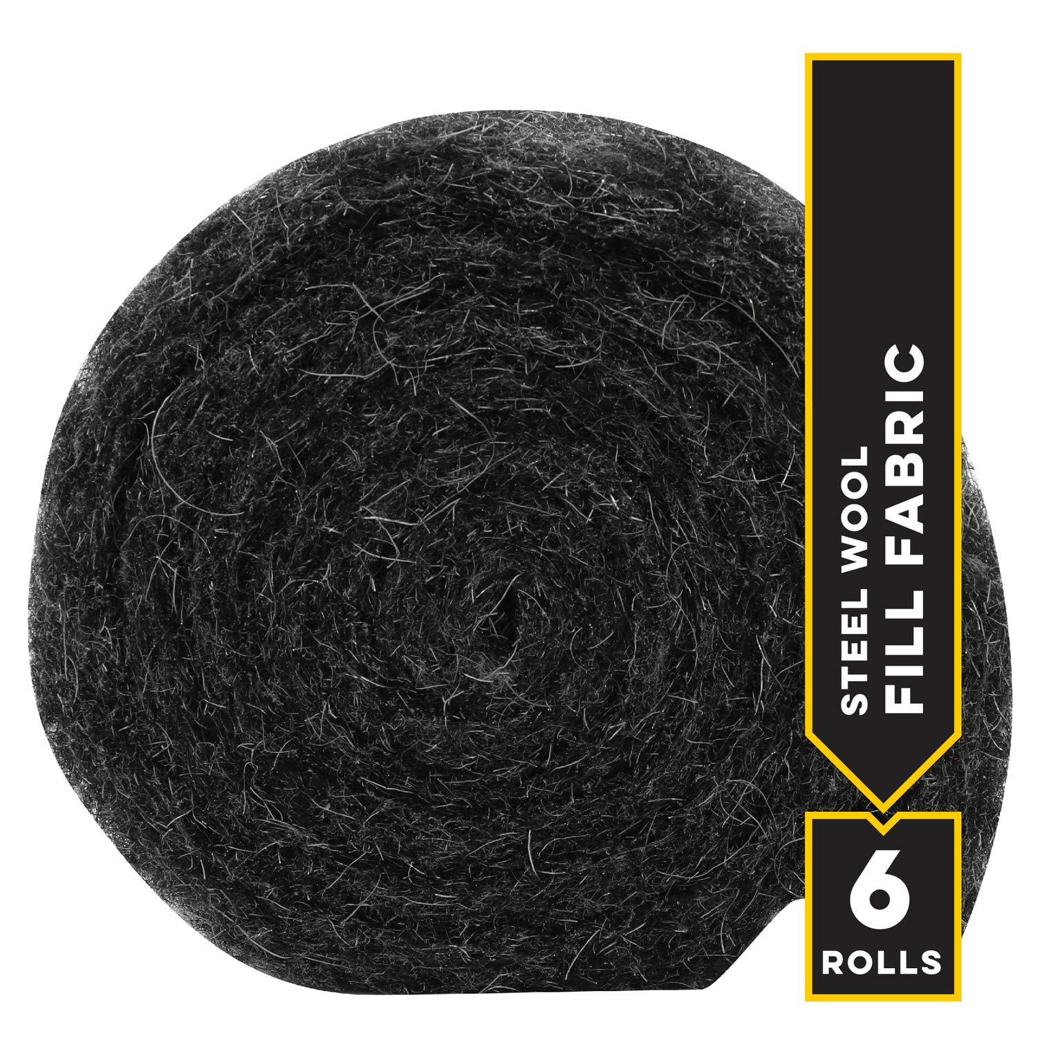 Xcluder Rodent Control Steel Wool Fill Fabric, 6 Rolls by Xcluder