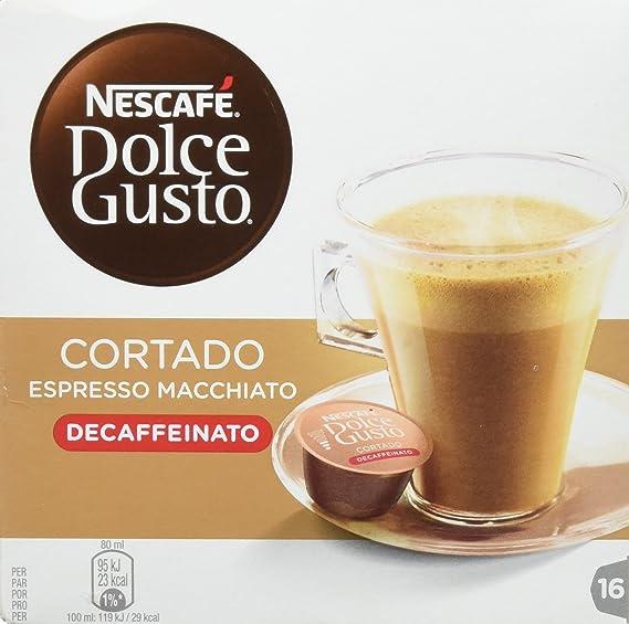Nescafe - Dolce Gusto Cafe Cortado descafeinado 12213078