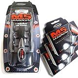 M5 Magnum 5 razor Blades with Trimmer, 14 Cartridges + Razor + Travel Case