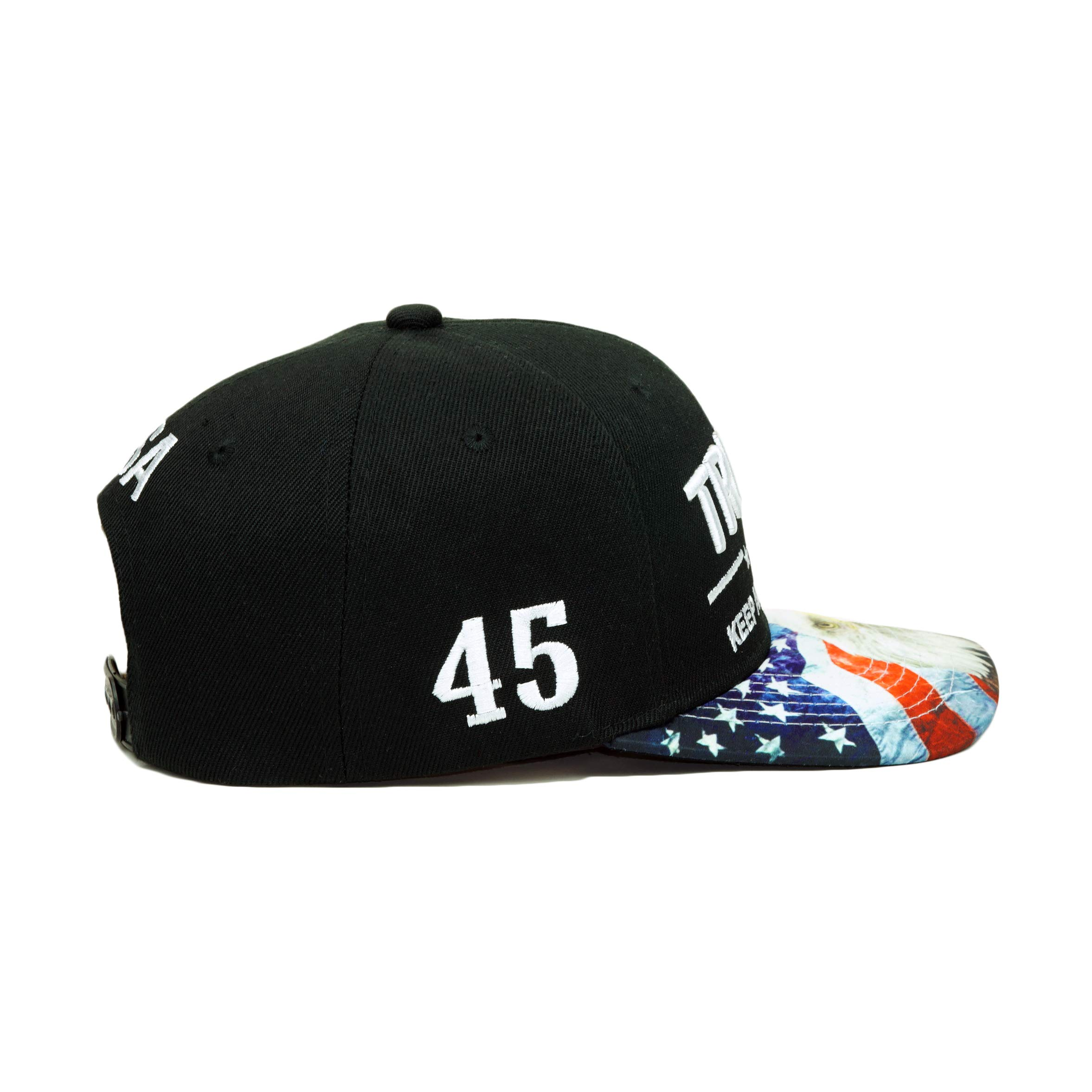e455cb687 Shop Home » Products » Trump Keep America Great! Embroidery Hat Adjustable  45 President USA Eagle Baseball Cap. Previous; Next