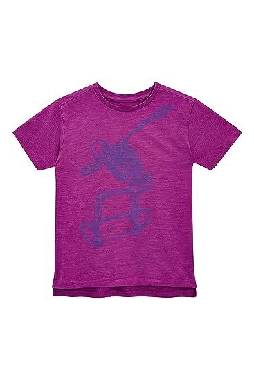 next Niños Camiseta con Estampado De Esqueleto (3-16 Años) Morado ...