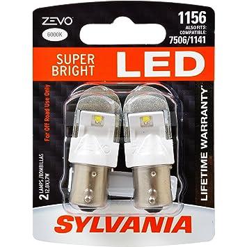 SYLVANIA ZEVO 1156 White LED Bulb   Contains 2 Bulbs. Amazon com  SYLVANIA ZEVO 1156 White LED Bulb   Contains 2 Bulbs