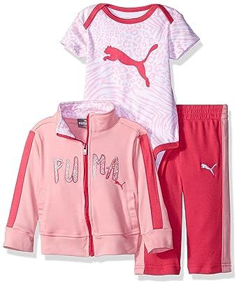 begrenzte garantie berühmte Designermarke preiswert kaufen Puma Baby - Mädchen Jogginganzug - rosa -: Amazon.de: Bekleidung