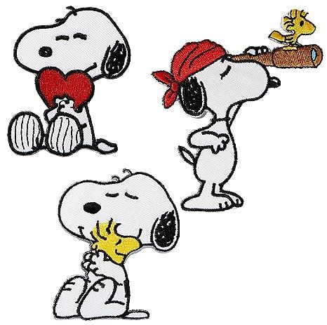 "Parche/Bügel imágenes – ""Snoopy/THE Peanuts – 5,4"
