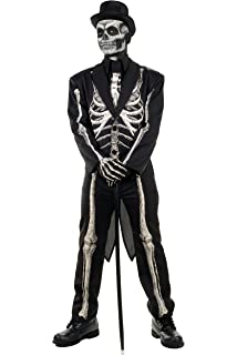 3d15f46621f1 Amazon.com: Forum Men's Skeleton Suit Formal Attire with Jacket and ...