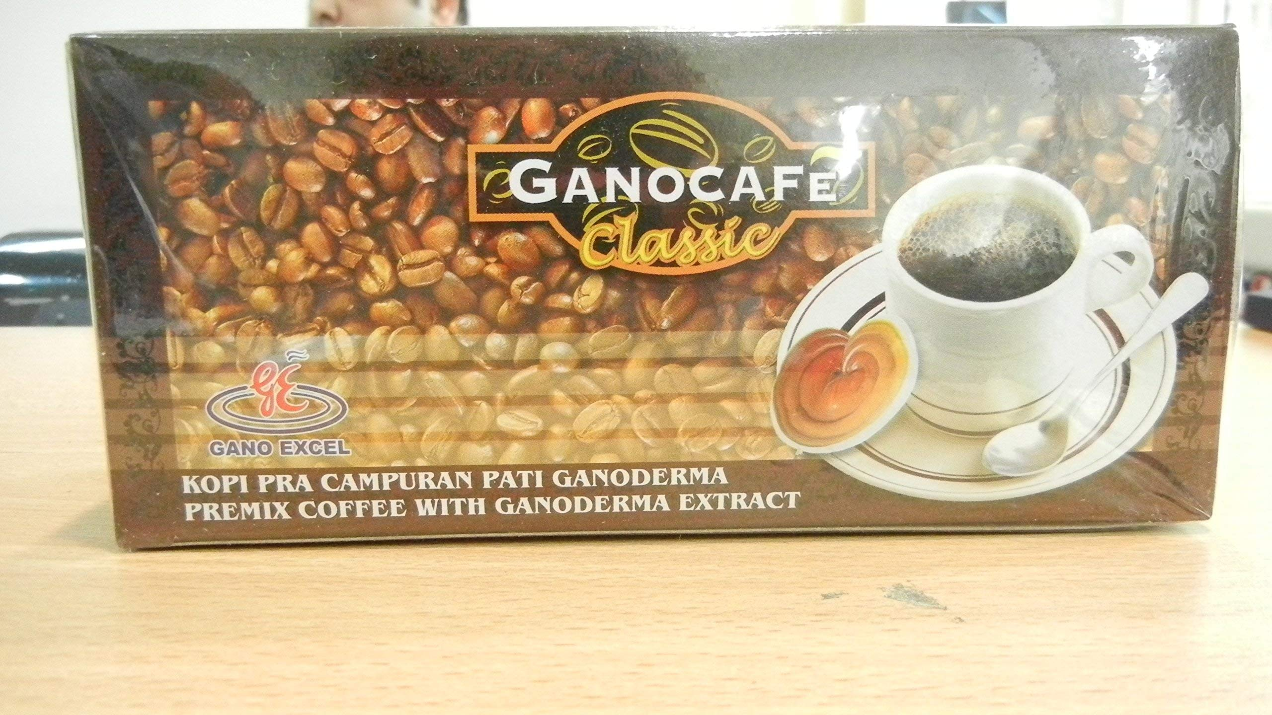 10 Boxes - GANO EXCEL GANOCAFE CLASSIC GANODERMA HEALTHY COFFEE Total 300 Sachets by GANOCAFE