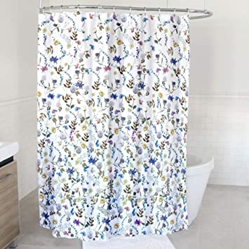 Image Unavailable Not Available For Color Splash Home Akita Polyester Fabric Shower Curtain