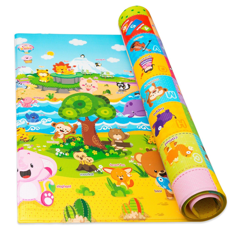Baby Play Mat Foam Floor Gym Non Toxic Non Slip