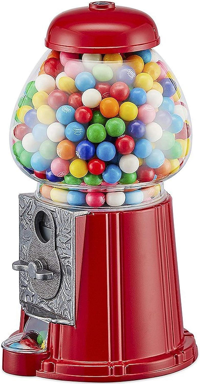 Unbekannt Retro Chicle Automat Chewing Gum Rojo–28cm Grande
