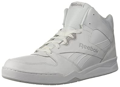 f0cda7968dcc Reebok Men s Royal Bb4500 Hi2 White LGH Solid Grey 11 D(M) US  Buy ...