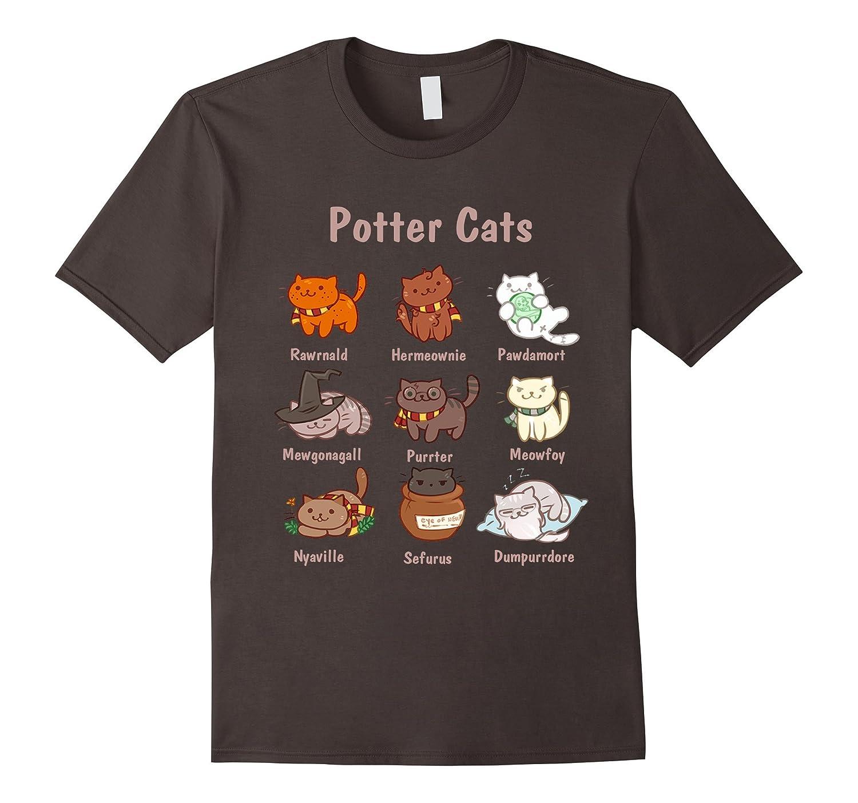 Potter Cats t-shirt-FL