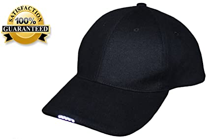 7d4b791fbb7 Northern Outback 5 LED Light Baseball Cap Hat - Best Hands Free Solution -  Camping - Hiking - Walking - Jogging - Plumbing - Auto Mechanics - High  Beam ...