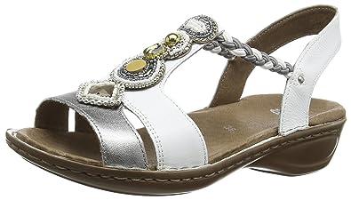 newest 1c998 633f4 ara Hawaii Damen Knöchelriemchen Sandalen