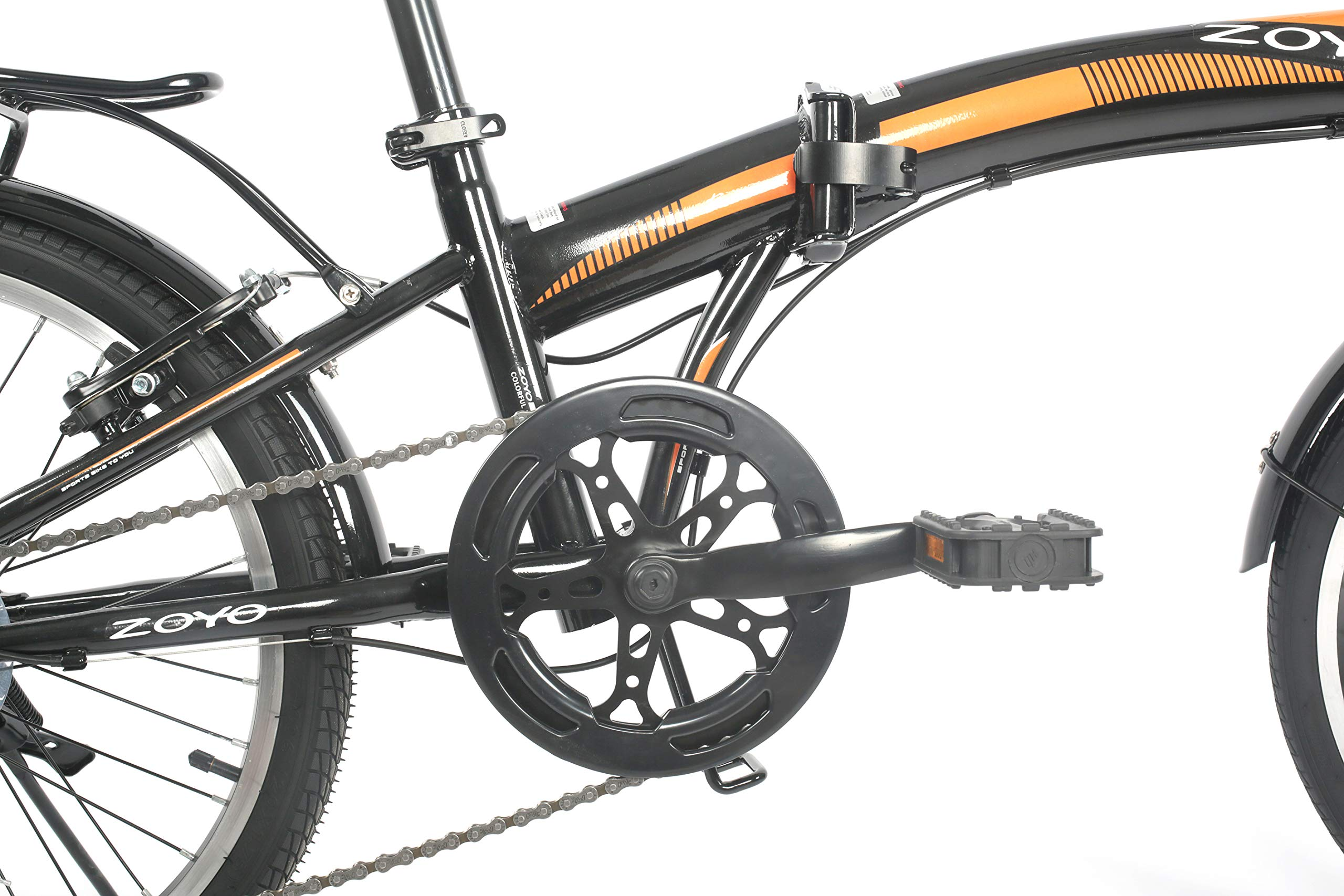 """ZOYO 20"""" Folding Bikes Adults 7Speed Shimano Gears 20 inch Folding Bike"""