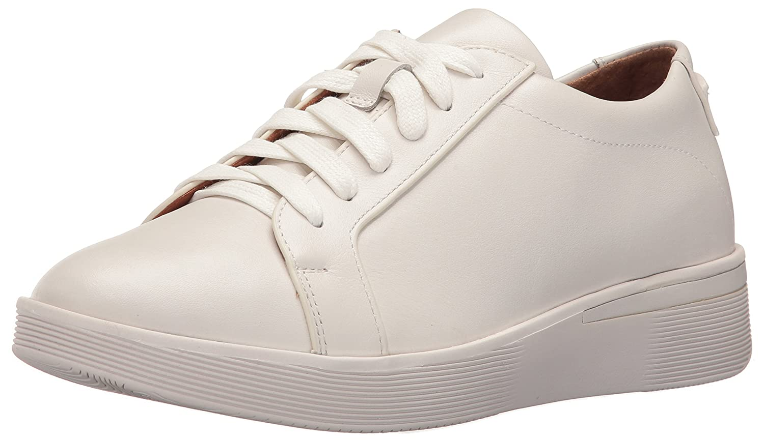 Gentle Souls by Kenneth Cole Women's Haddie Low Profile Fashion Sneaker Embossed Fashion Sneaker B01LYFKRKR 9.5 M US|White