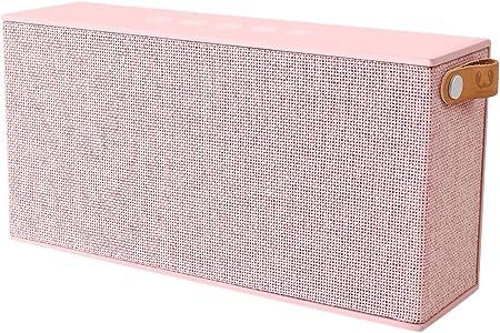 Fresh N Rebel Rockbox Chunk Fabriq Edition Tragbarer Kabelloser Lautsprecher Mit Bluetooth 4 0 Inklusive Micro Usb Ladekabel Farbe Cupcake Audio Hifi