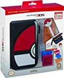 RDS Industries, Nintendo 3DS Game Traveler Essentials Pack - Black Pokeball (Discontinued by Manufacturer)