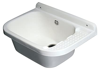 Lavello Da Giardino In Plastica : Negrari a lavatoio pilozzo da parete resina pp cm