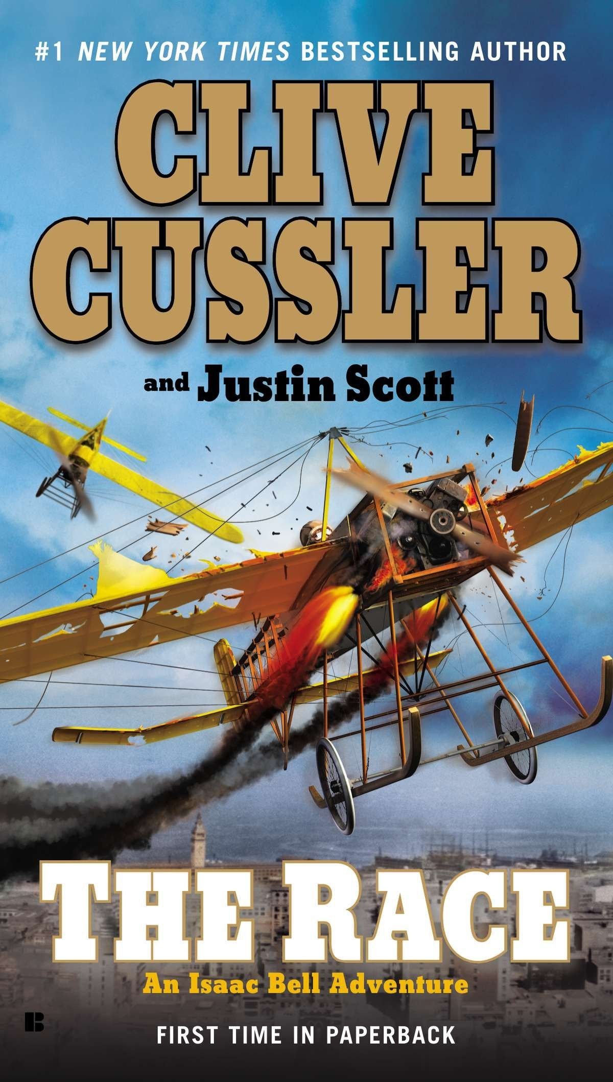 Amazon.com: The Race (An Isaac Bell Adventure) (9780425250440): Clive  Cussler: Books