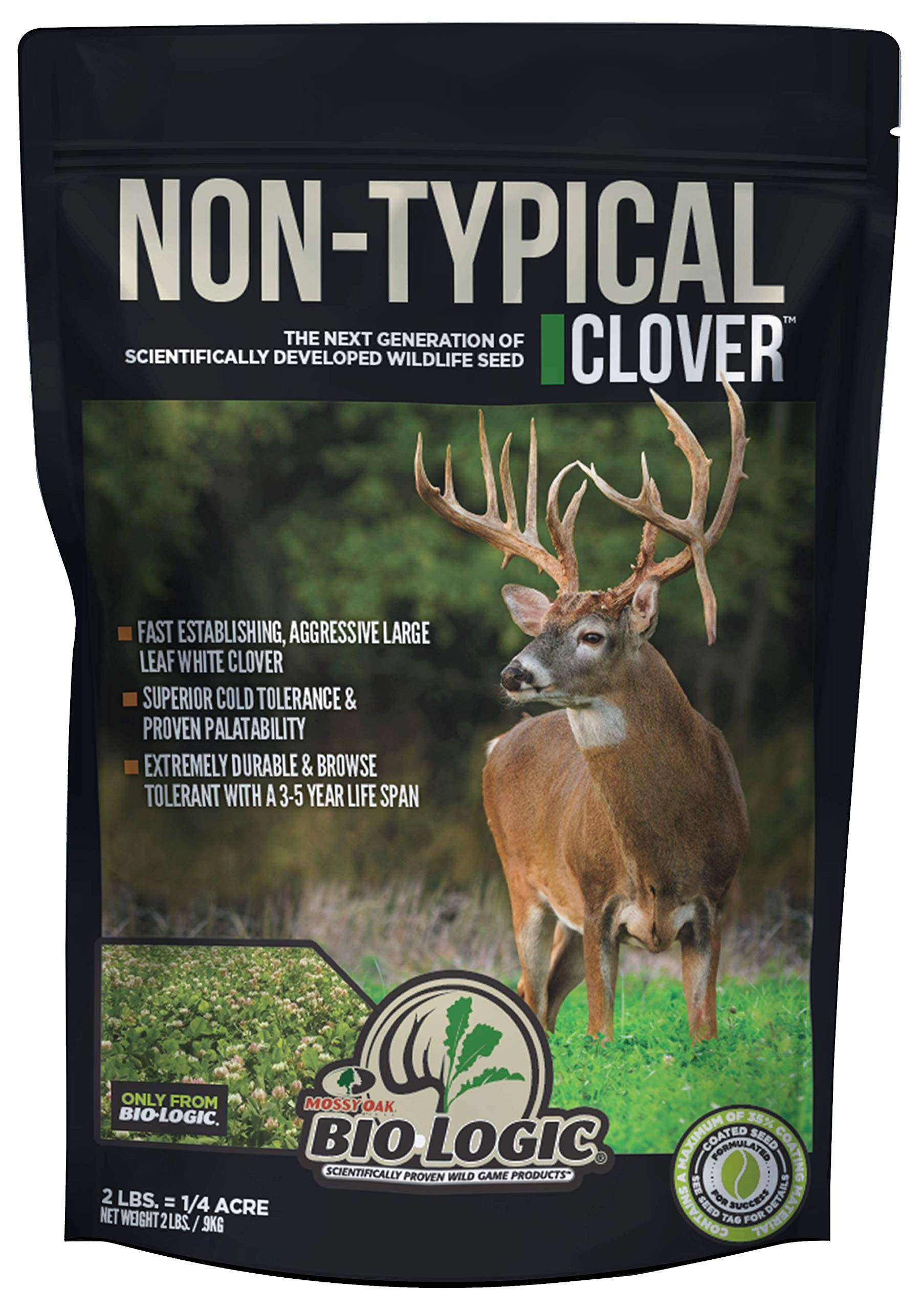 BioLogic Non-Typical Clover Food Plot Seed for Deer by BioLogic