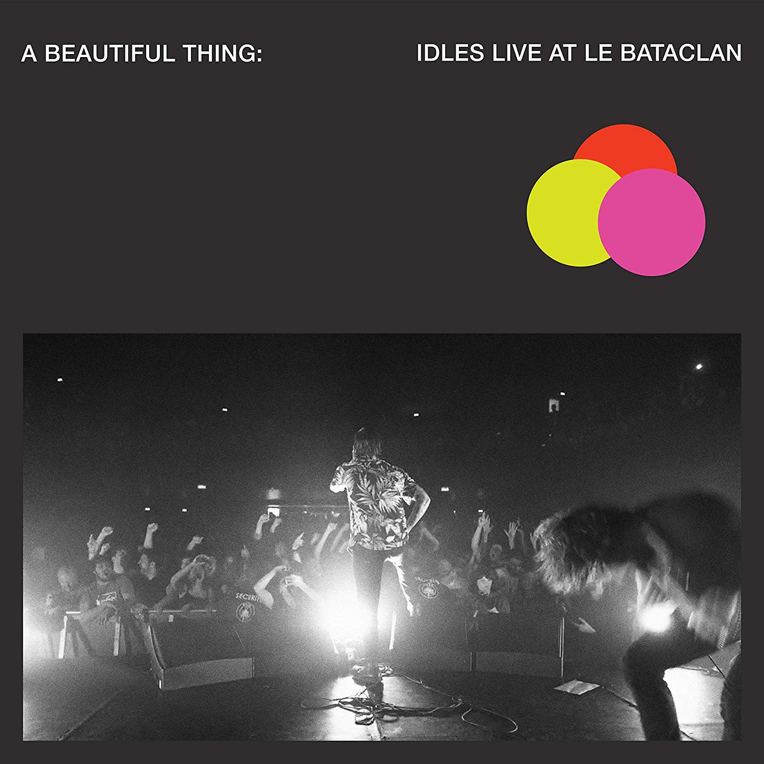 "Idles Live At Le Bataclan/"" 2xLP New Music Idles /""A Beautiful Thing"