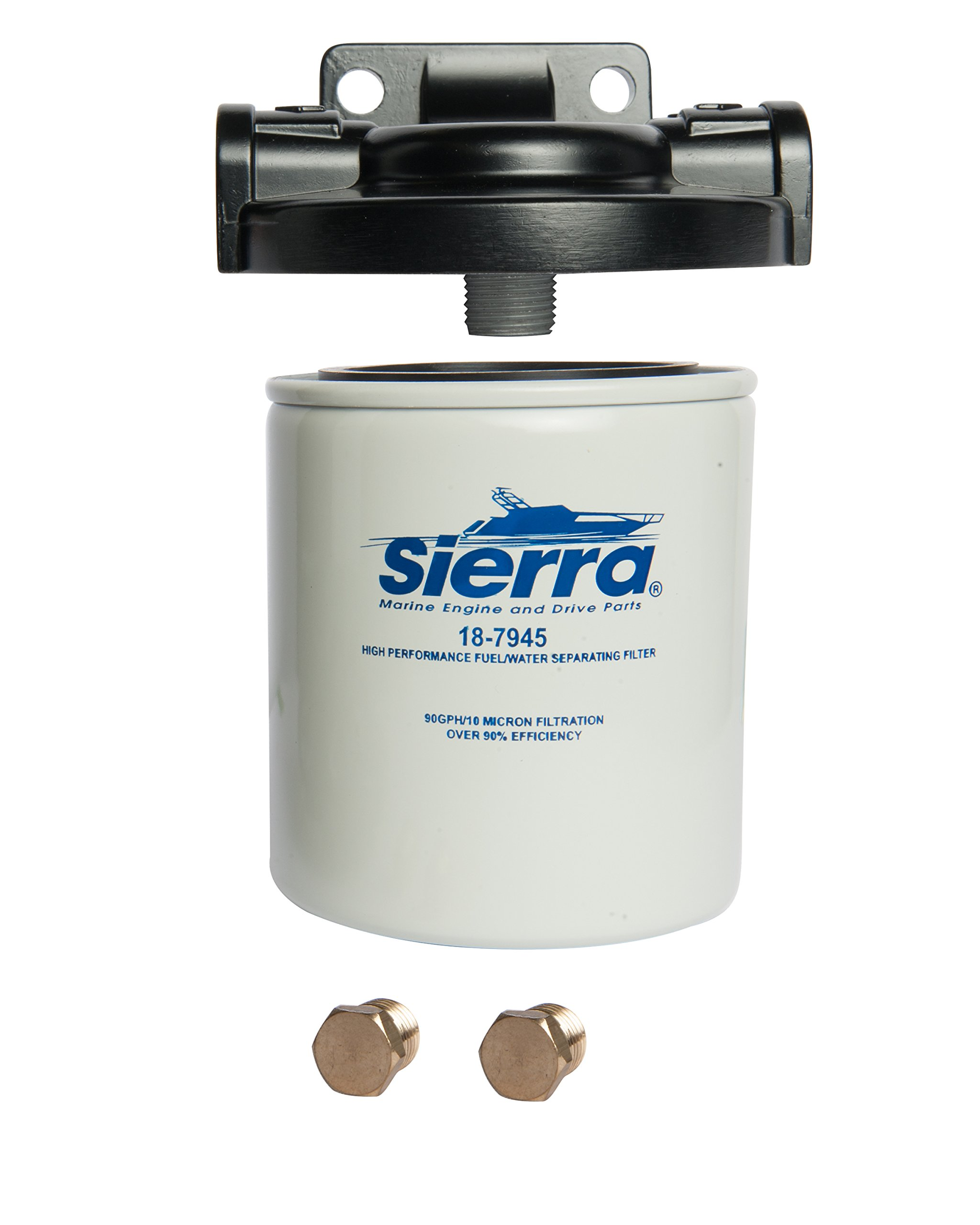 Best Rated In Boat Engine Fuel Filters Helpful Customer Reviews Yamaha Water Separator Filter Sierra International 18 7982 1 Marine Kit Product Image