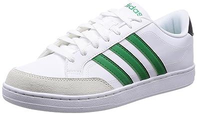 adidas NEO Herren CourtSet Low Top Weiß (WhiteGreenBeige