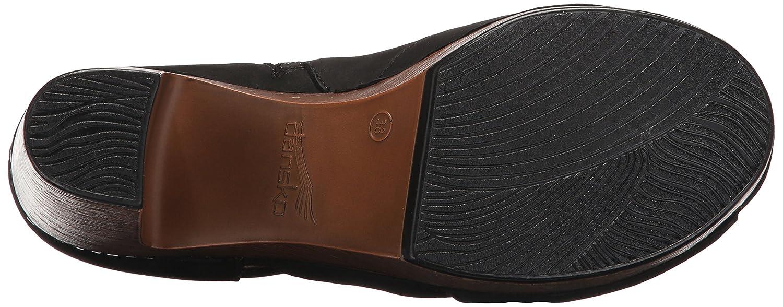 Dansko Women's Delphina Ankle Bootie B01MT3X224 39 EU/8.5-9 M US|Black Milled Nubuck