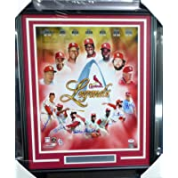 $479 » St. Louis Cardinals MLB Hall of Famers Autographed Framed 16x20 Photo With 7 Signatures Including Stan Musial, Lou Brock…