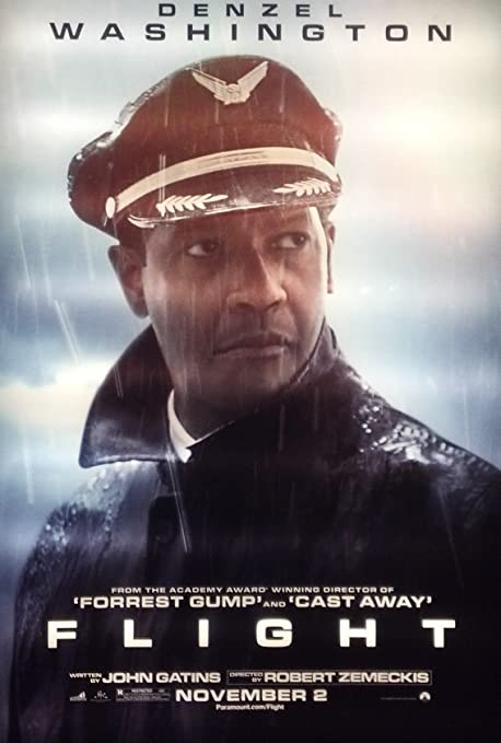 Amazon.com : Flight - Movie Poster - 2012'- 48 in. x 70 in. : Everything  Else