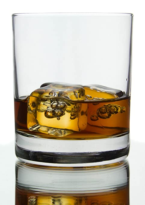 Lovely Classic Barware Whiskey Glasses, 10 Ounce   Set Of 6