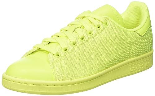 new style ff33d d027c adidas Stan Smith, Scarpe da Ginnastica Basse Uomo, Giallo Solar Yellow, 39  1