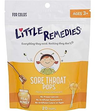 Amazon.com: Little Remedies Sore Throat, 20 Count, 1: Health ...