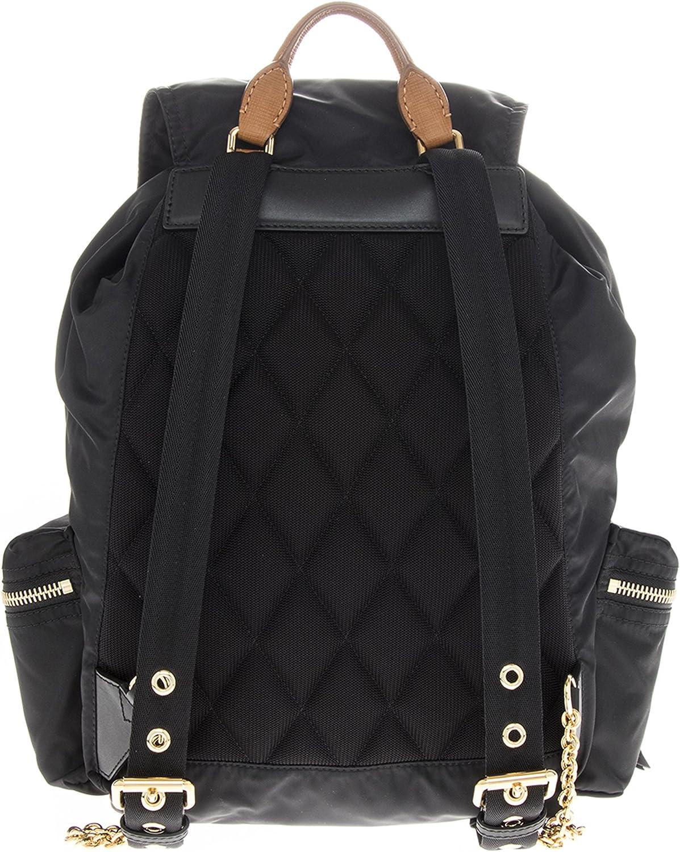 Burberry Womens Large Rucksack Backpack Black