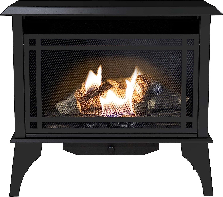 Pleasant Heart 30,000 BTU Gas vent free stove