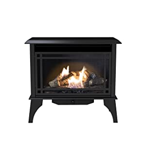 Pleasant Hearth VFS2-PH30DT 30,000 BTU 32 in. Intermediate Gas Vent Free Stove