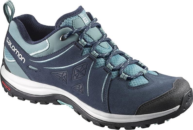 SALOMON Damen Ellipse 2 Ltr W Trekking & Wanderhalbschuhe, blau
