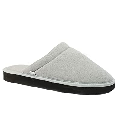 Pear pantuflas Slippers for Men (US/Men 12-12.5, Gray) | Slippers