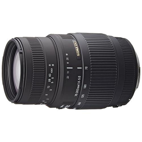 Sigma AF 70-300mm f4-5.6 DG Macro Canon Fit Lens