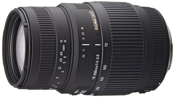 Sigma 70-300/4-5.6 Macro DG EO - Objetivo: Amazon.es: Electrónica