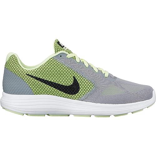 Nike Revolution 3, Zapatillas de Running para Mujer, Gris