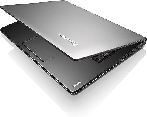 Lenovo Ideapad S300 33 8 cm 13 3 Zoll Laptop Intel Core i5 3317U 1 7GHz 4GB RAM 500GB HDD Intel HD 3000 Win 8 silber