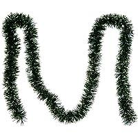 Guirnaldas de Oropel Decoraciones Navideñas, Negro - 2m