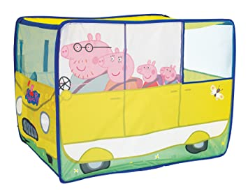 Peppa Pig C&avan Tent  sc 1 st  Amazon UK & Peppa Pig Campavan Tent: Amazon.co.uk: Toys u0026 Games