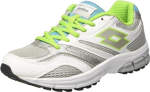 Lotto Mujer R601 Zapatillas de Running de competición Multicolor ...