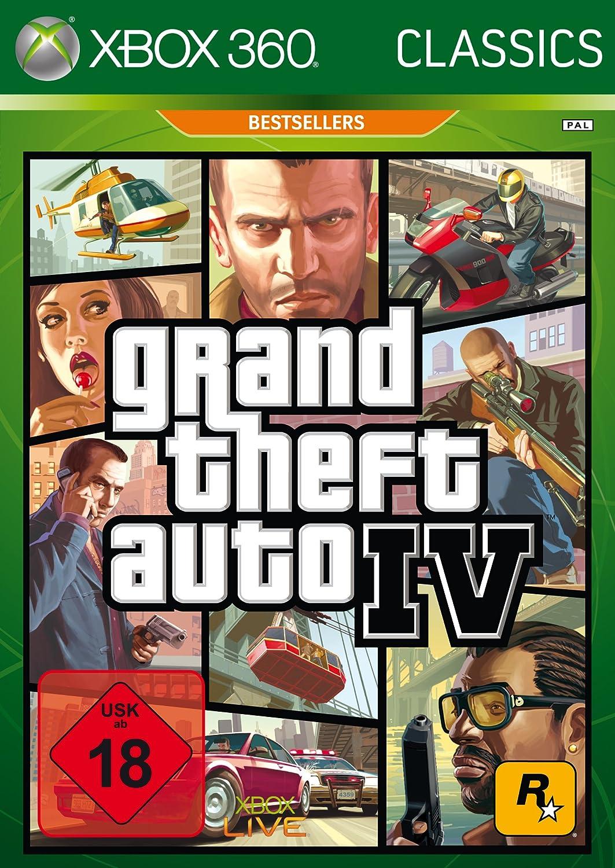 Take-Two Interactive Grand Theft Auto IV (Xbox 360) Básico Xbox ...