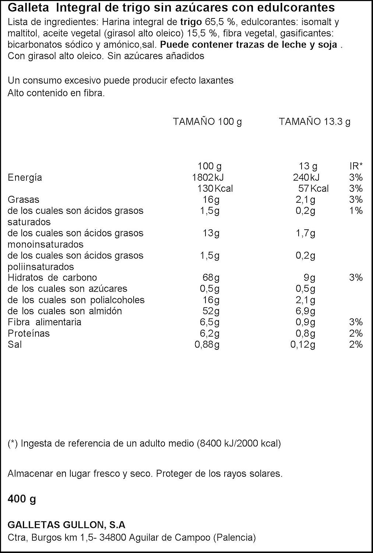 Diet Nature - Galletas Digestive - Caja 400 g: Amazon.es: Alimentación y bebidas