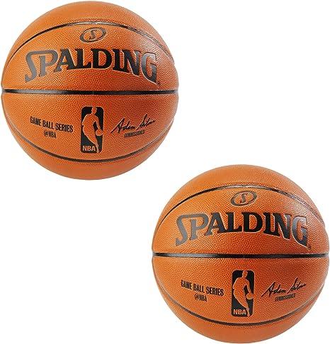 Spalding NBA réplica de Pelota de Juego para Interior/Exterior ...