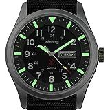 Infantry IN-044-S-N - Reloj de bolsillo , correa de nailon color negro