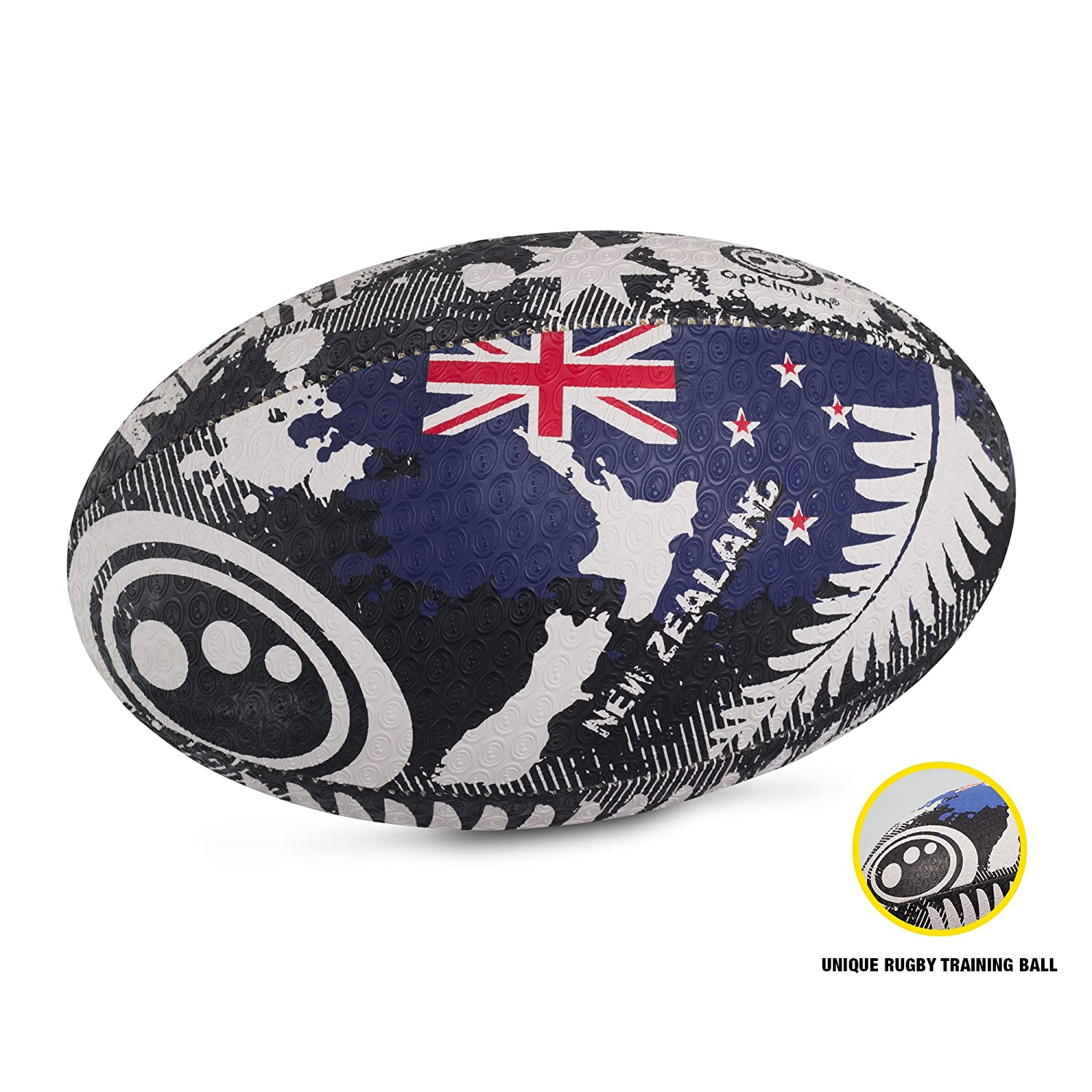 Optimum Nations Rugby Ball